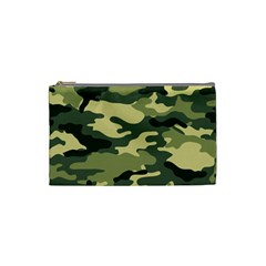 Camouflage Camo Pattern Cosmetic Bag (small)  by BangZart