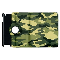Camouflage Camo Pattern Apple Ipad 3/4 Flip 360 Case by BangZart