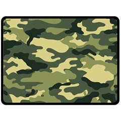 Camouflage Camo Pattern Double Sided Fleece Blanket (large)  by BangZart