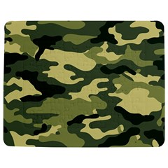 Camouflage Camo Pattern Jigsaw Puzzle Photo Stand (rectangular) by BangZart