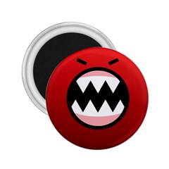 Funny Angry 2 25  Magnets by BangZart