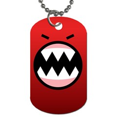 Funny Angry Dog Tag (two Sides) by BangZart