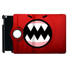 Funny Angry Apple Ipad 2 Flip 360 Case