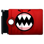 Funny Angry Apple iPad 2 Flip 360 Case Front