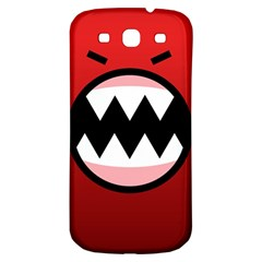 Funny Angry Samsung Galaxy S3 S Iii Classic Hardshell Back Case by BangZart