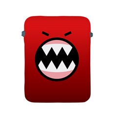 Funny Angry Apple Ipad 2/3/4 Protective Soft Cases by BangZart