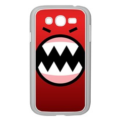 Funny Angry Samsung Galaxy Grand Duos I9082 Case (white) by BangZart