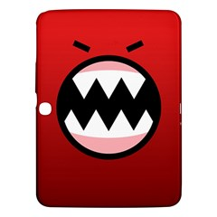 Funny Angry Samsung Galaxy Tab 3 (10 1 ) P5200 Hardshell Case  by BangZart
