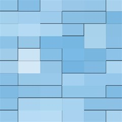 Blue Squares Iphone 5 Wallpaper Magic Photo Cubes by BangZart