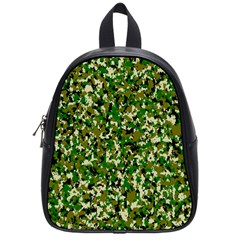 Camo Pattern School Bags (small)