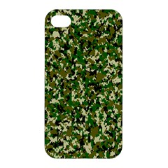 Camo Pattern Apple Iphone 4/4s Premium Hardshell Case by BangZart