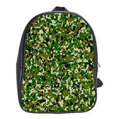 Camo Pattern School Bags (xl)  by BangZart