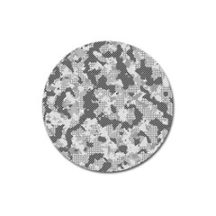 Camouflage Patterns Magnet 3  (round) by BangZart