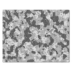 Camouflage Patterns Rectangular Jigsaw Puzzl by BangZart