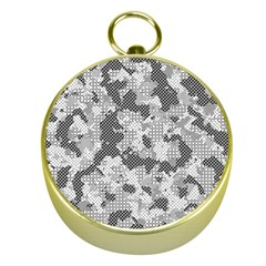 Camouflage Patterns Gold Compasses by BangZart