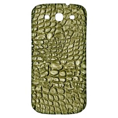 Aligator Skin Samsung Galaxy S3 S Iii Classic Hardshell Back Case by BangZart