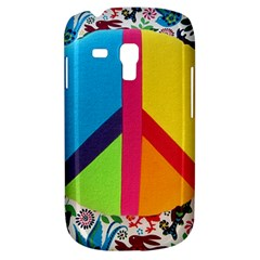 Peace Sign Animals Pattern Galaxy S3 Mini by BangZart