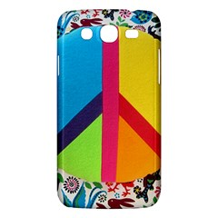 Peace Sign Animals Pattern Samsung Galaxy Mega 5 8 I9152 Hardshell Case  by BangZart