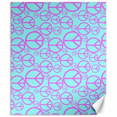 Peace Sign Backgrounds Canvas 20  X 24   by BangZart