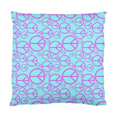 Peace Sign Backgrounds Standard Cushion Case (two Sides) by BangZart