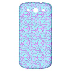 Peace Sign Backgrounds Samsung Galaxy S3 S Iii Classic Hardshell Back Case by BangZart