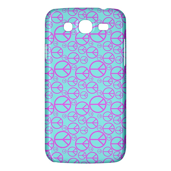 Peace Sign Backgrounds Samsung Galaxy Mega 5.8 I9152 Hardshell Case