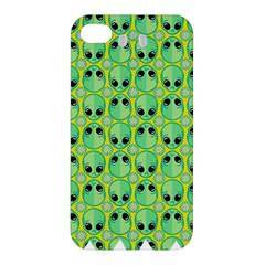 Alien Pattern Apple Iphone 4/4s Hardshell Case by BangZart