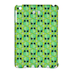 Alien Pattern Apple Ipad Mini Hardshell Case (compatible With Smart Cover)