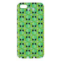 Alien Pattern Iphone 5s/ Se Premium Hardshell Case by BangZart