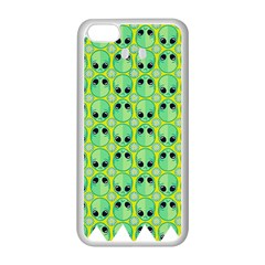 Alien Pattern Apple Iphone 5c Seamless Case (white) by BangZart