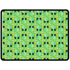 Alien Pattern Double Sided Fleece Blanket (large)  by BangZart
