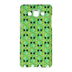 Alien Pattern Samsung Galaxy A5 Hardshell Case  by BangZart