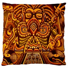 Alien Dj Large Cushion Case (two Sides) by BangZart