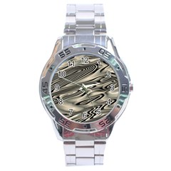 Alien Planet Surface Stainless Steel Analogue Watch by BangZart