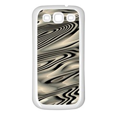 Alien Planet Surface Samsung Galaxy S3 Back Case (white) by BangZart