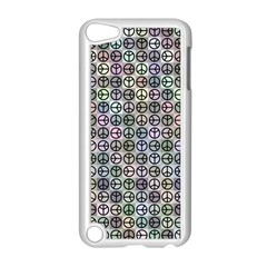 Peace Pattern Apple Ipod Touch 5 Case (white) by BangZart