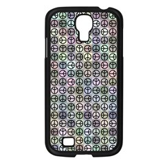 Peace Pattern Samsung Galaxy S4 I9500/ I9505 Case (black) by BangZart