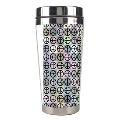 Peace Pattern Stainless Steel Travel Tumblers by BangZart
