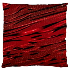 Alien Sine Pattern Large Flano Cushion Case (one Side) by BangZart