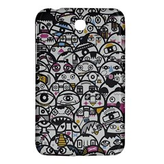 Alien Crowd Pattern Samsung Galaxy Tab 3 (7 ) P3200 Hardshell Case  by BangZart