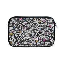 Alien Crowd Pattern Apple Macbook Pro 13  Zipper Case by BangZart