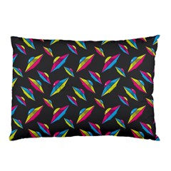 Alien Patterns Vector Graphic Pillow Case by BangZart
