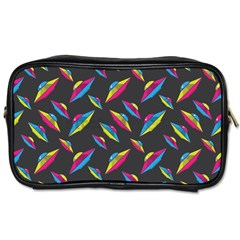 Alien Patterns Vector Graphic Toiletries Bags 2 Side by BangZart