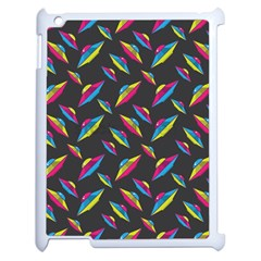 Alien Patterns Vector Graphic Apple Ipad 2 Case (white) by BangZart