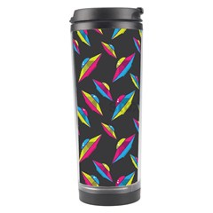 Alien Patterns Vector Graphic Travel Tumbler by BangZart