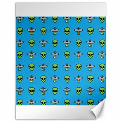 Alien Pattern Canvas 18  X 24   by BangZart