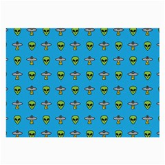 Alien Pattern Large Glasses Cloth by BangZart