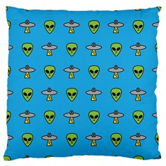 Alien Pattern Large Cushion Case (two Sides) by BangZart