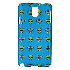 Alien Pattern Samsung Galaxy Note 3 N9005 Hardshell Case by BangZart