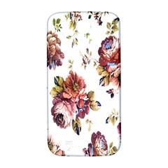 Texture Pattern Fabric Design Samsung Galaxy S4 I9500/i9505  Hardshell Back Case by BangZart